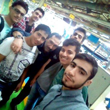 تصاویر اردو بازدید از ایران خودرو تابستان ۹۶