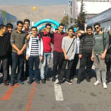 اردو بازدید از نمایشگاه تلکام مهر ۹۶