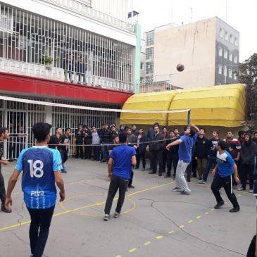 تصاویر مسابقات داخلی والیبال
