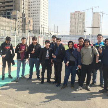 اردوی فوتبال صابونی ، حبابی ، دارتی و چمن مصنوعی
