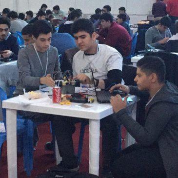 حضور تیم رباتیک مبتکران در فیراکاپ ایران