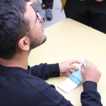 تصاویر انتخابات شورای دانش آموزی ۱ آبان ۹۸